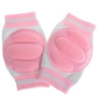 Wholesale baby elbow pads resale online - Toddler Baby Knee Pads Protective Crawling Kids Boys Girls Elbow Pads Safety Hot