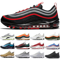 Wholesale Running Shoes Men Women Bred Triple Black White Silver Gold Bullet Game Royal Fashion Mens Trainers Sports Sneakers Size