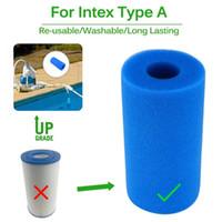 Swimming Pool Foam Filter Intex Type A Sponge Reusable Washable Biofoam Filter Clean Water Foam Pool Accessories Piscina Piscine