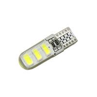 ingrosso lampada da lettura gialla-12V W5W 168 194 LED Canbus lampadine a LED T10 5630 6SMD Targa laterale auto targa cupola targa luce lampada lampadina