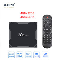 X96 MAX Best New upgrade Android 8.1 TV box powerful Amlogic s905X3 4GB 64GB Dual WiFi 1000M Lan 4K Smart TV box