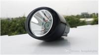 ingrosso ha portato la luce della protezione dei minatori-YJM-KL2.8LM (B) 8000lm 2800 mah 18650 Li-ion LED batteria senza fili LED minatori / Wireless Miner Mining Cap Light Lampada per OEM