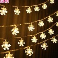 rosa geführte klipps groihandel-Frohe Weihnachten Led Fotorahmen Wand Seil Clip Weihnachtsschmuck Dekorationen Für Zuhause 2019 Neujahr 2020 Navidad Geschenk