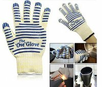 Wholesale hot surface gloves for sale - Group buy The Ove Glove Microwave oven Glove Heat Resistant Cooking Heat Proof Oven Mitt Glove Hot Surface Handler