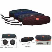 ingrosso sistema audio nuovo auto-Nuovo arrivo E12 Altoparlanti Bluetooth Mini altoparlante senza fili portatile Bluetooth Super Bass Sound System Altoparlante di musica stereo 3D Supporto auto