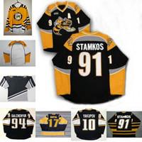 ingrosso yakupov jersey-Maglia Sarnia Sting 91 Steven 17 Martin Stamkos 94 Alex Galchenyuk 10 Maglia Jersey da hockey Youth Yakupov da uomo