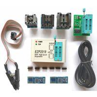 ingrosso usb eeprom programmatore-Programmatore SPI USB ad alta velocità EZP2019 migliore di EZP2013 EZP2010 2011 Supporto 24 25 93 Bios flash EEPROM