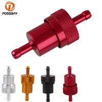 Wholesale scooter gas for sale - Group buy POSSBAY Pc Universal Motorcycle Oil Gas Fuel Filter for Quad Go Kart Moped Scooter Buggy Motocross ATV Motorcycle Accessories