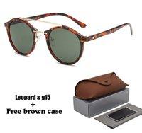neue angekommene sonnenbrille großhandel-2020 neue angekommene Sonnenbrille für Mann-Frauen-Markendesigner-klassische Sonnenbrille-Spiegel-UV400-Objektiv-treibende Gläser mit Kleinfall und Kasten