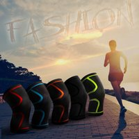 Wholesale leg protector knee for sale - Group buy Outdoor Sport Knee Pads Running Basketball Cycling Fitness Non slip Breathable Nylon Knee Pads Leg Protector Knee Support ZZA979