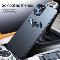 Wholesale batman phone covers for sale – best Ultra thin Metal Batman Matte PC Phone Case For iPhone Pro Max SE XSmax XR XS X s P Magnetic Cover
