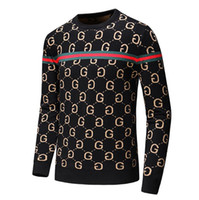 Wholesale new arrival sweater for winter for sale - Group buy Men s Brand Fashion Letter Embroidery Knitwear Winter Men s Clothing Crew Neck Long Sleeve Sweater for Men Designer Hoodies New Arrivals Q97