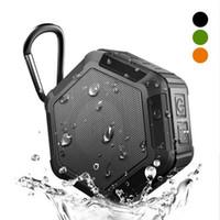 ip67 telefone celular à prova d'água venda por atacado-Ip67 alto-falantes à prova d 'água sem fio bluetooth speaker portátil ao ar livre mp3 player com porta tf para ipad telefone móvel alto-falantes estéreo