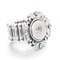 diy ring tasarımları toptan satış-DIY Yapış Takı Ayarlanabilir Boyutu 12mm Yapış Düğmeler Yüzükler Kadınlar Erkekler Için Vintage Tasarım Ile Xinnver Takı Toptan ZH022