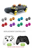 thumbsticks ps4 controller groihandel-DATA FROG Metall Thumbsticks Joystick-Griff-Knopf für Sony PS4-Controller Analog-Stick-Kappe für Xbox One / PS4 Slim / Pro Gamepad