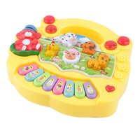 Wholesale drop ship electronics for sale - Group buy Kids Electronic Organ Musical Educational Piano Animal Farm Developmental Music Piano Toy Gift For Baby Child Birthday drop ship