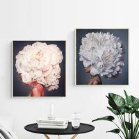 papel pintado decorativo impreso al por mayor-Pájaros y mujeres Wallpaper Canvas Posters Prints Wall Amy Judd Art pintura decorativa imagen dormitorio decoración del hogar moderno obras de arte