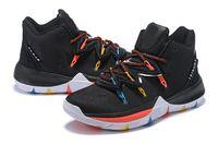 mağaza ayakkabısı toptan satış-Sıcak satış kyrie V arkadaşlar ayakkabı kutusu Ile ücretsiz kargo Irving 5 Açık Ayakkabı mağaza Drop Shipping size40-46