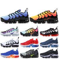 Wholesale best summer hiking shoes for sale - Plus TN Designer Men Women Sneakers Hyper Blue Sunset Game Royal Ultra White Black Best TN Trainers Sport Running Shoes