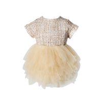 ingrosso buone ragazze carine-Buona qualità Toddler Baby Dress Ragazze Principessa Cute Mesh Party Pageant Tutu Dress ragazza costumi vestido infantil festa meisjes
