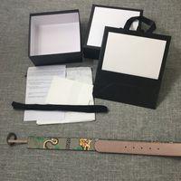 ingrosso cinture di corsetto argento-Cinture tigre 2020 Cintura da donna e da uomo Cintura di design in oro e argento Fibbia marrone con cinturino in pelle di tigre con scatola di alta qualità Dimensioni Larghezza 3,8 cm