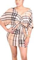 ingrosso vestiti femminili di un pezzo-Vestiti sexy delle donne Estate manica corta floreale stampato abito Lady One Piece Street Club abbigliamento femminile