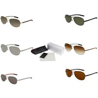 1acef5a52510 Gafas de sol ovaladas de metal Precio barato Gafas deportivas Las gafas de  sol deportivas Gafas graduadas Marca Moda Biker Sunnies con estilo 8301