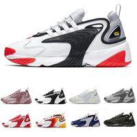 Nike air zoom M2k Scarpe da corsa stile di vita M2K Bianco Nero Blu ZM 2000 Scarpe da ginnastica di design in stile anni 90 da ginnastica Scarpe da