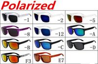 Wholesale sunglasses w resale online - NEW BRAND Orginal Quality SUNGLASSES eyewear goggles MATTE BLACK W GRAY POLARIZED LENS FOR MEN COLOR options