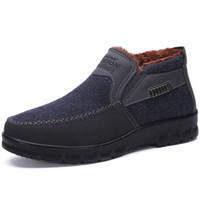 случайные чернокожие мужчины бездельники оптовых-Mens Shoes Casual Fashion Designer Genuine Leather Shoes For Men Slip On Loafers Black Sneakers Winter Autumn Men's