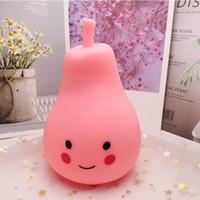 Wholesale toy april resale online - Creative Pear Alpaca Rabbit Animal Model Children Sleeping Luminous Toy Bedroom Series Birthday Gift