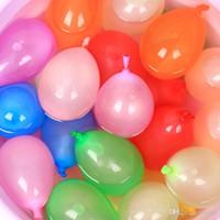 jogos de balões venda por atacado-DHL Ao Ar Livre Balão de Água brinquedo Incrível Balões De Água Mágica Bombas Brinquedos para Crianças Crianças de Verão Praia de Água Sprinking Ballons Jogos
