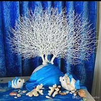 Wholesale artificial coral flowers for wedding for sale - Group buy 10Pcs European style High grade White Coral Branch Artificial Flower Craft Ornament For Wedding Table Decoration