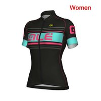 Wholesale pro cycling resale online - Women Cycling Jersey Summer ALE Mountain bike short sleeve Jersey ropa ciclismo cycling shirts Pro team riding wear K111315