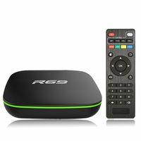 фильм hd оптовых-R69 Android 7.1 Smart TV Box Allwinner H3 Quad-Core 2.4G Wifi Set Top Box 1G 8G 1080P HD фильм 1GB 8GB Media Player Мини-ПК