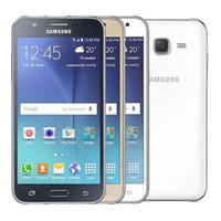 Wholesale multi screen phone for sale - Group buy Refurbished Original Samsung Galaxy J5 J500F Single SIM inch LED Screen Quad Core GB RAM GB ROM MP G LTE Unlock Phone DHL