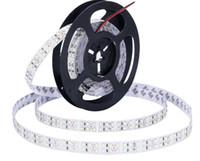 éclairage à cordes plates led blanc achat en gros de-OUMUKALED Bande à LED 2835 1200 SMD Ruban à LED flexible large luminosité 15mm largeur 5m Double rangée 12V Blanc Blanc chaud