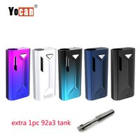 Wholesale fitting connector for sale - Group buy Authentic Yocan Groote Box Mod mah Battery Preheat Variable Voltage with Magnetic Connector Oil Fit For Thread Tank Vape Kit