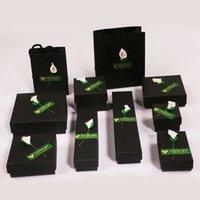 kız zili kapak toptan satış-Yüksek Kaliteli Kız Küpe için Aplike Mücevher Kutuları Kağıt Mücevher Kutusu Küpe Yüzük Takı Saklama Hediye Kutusu Kasa