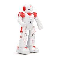 roboterprogramm großhandel-Intelligente Programmierung Smart Robot Fernbedienung Patrol Display Song Dance Helles und buntes Licht Auto Display