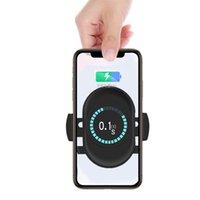 handy-auto-aufladung großhandel-Car Wireless Charger 5W10W Intelligent Voll kompatibel mit allen Mobiltelefonen Universal Wireless Charging Car Navigation Bracke