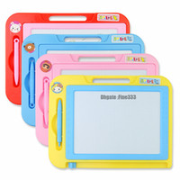 Wholesale drawings sketches resale online - Colorful Magnetic Drawing Board Toy and Sketch Erasable Pad Writing Kids Toddler Boy Girl Painting Learning Birthday Gift
