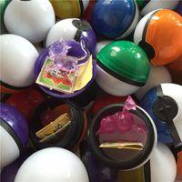 kırmızı pikapu toptan satış-36 adet / grup Renkli / Kırmızı PokBall Kristal Pet Pokbolas Action Figure Pokball Pikachu Şekil Çıkartmalar Oyunu Top Oyuncak