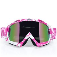 Wholesale woman cycling helmets resale online - New Man Women Motocross Goggles Glasses Cycling MX Off Road Helmets Goggles Racing Ski Motorcycle Goggle