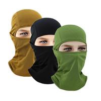 güneş koruma maskeleri toptan satış-FIRECLUB Spor Maskesi Yumuşak Nefes Başlık Yüz Kalkanı Hood Rüzgar Geçirmez Güneş koruma Toz Koruma Sürme Yüz Maskesi