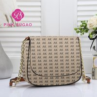 Wholesale leather bags hot pink online - Pink sugao designer purses fashion brand shoulder bag luxury women crossbody bag pu leather chain bags for lady high quality hot sales