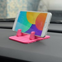 Wholesale rubber phone holder for car for sale – best Car Dashboard Non slip Mat Rubber Mount Phone Holder Pad Mobile Phone Sundries Stand Bracket For Samsung Xiaomi Mobile Holder
