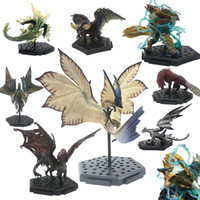 Wholesale games dragons for sale - Group buy Popular Games Dragon Model Japan Monster Hunter World Monsters PVC Zinogre Action Figure Decoration Christmas Gift Toy