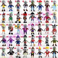 spiele plüsch großhandel-40 Arten Gemüse Plüschpuppen 30cm Classic Spiel Puppen Zombie Plüschtiere nette Simulation Puppe Kindgeschenk
