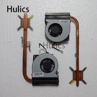 ventiladores de refrigeración asus cpu al por mayor-Original para Asus K52F K52J K52JR KSB06105HB -9J73 Laptop Disipador de calor CPU enfriador ventilador de refrigeración